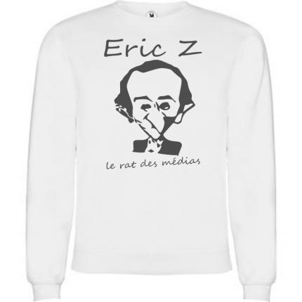 sweat-shirt anti eric zemmour le rat des medias SWM-850-3265