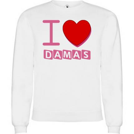 SWEAT SHIRT mixte SYRIE I LOVE DAMAS SWF-850-3029