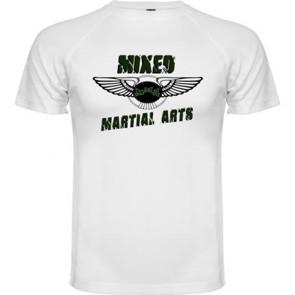 T-shirt MMA style Bentley motors  Mix martial Arts  couleur blanc