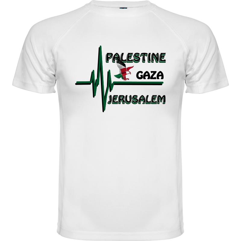 T-shirt Jérusalem capitale de Palestine Tee shirt Palestine libre